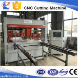 Máquina de estaca da tela da cabeça do curso do CNC com alimentação da tabela de deslizamento