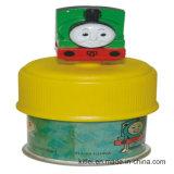 Jouet en plastique de cadre de train de Customed de vinyle de PVC de Noël d'argent coloré en gros de train