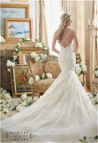 2017 сексуальных подгонянных платьев венчания невесты Mermaid,
