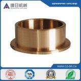 Carcaça de investimento de cobre feita sob encomenda do cobre da precisão da luva do OEM
