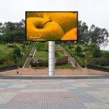 De China da parede P10 do diodo emissor de luz tela 2016 de indicador video impermeável ao ar livre