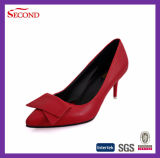 Pure Color Suede Lady Tacones Altos