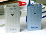 Ar recarregável Ionizer do mini purificador do ar com fio do USB