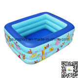 Verano inflable inflable del cabrito de la piscina del PVC que baña la piscina al aire libre