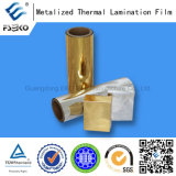 Polyester metalizado Gold Film para Decoration