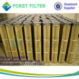 Filtro de cartucho plissado de ar Industiral de alta temperatura Forst