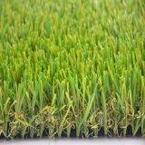 Herbe fausse semblante naturelle de pelouse artificielle commerciale de jardin (GS)