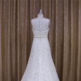 Motivo floral A de Guangzhou - linha laço nupcial dos vestidos de casamento