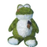 プラシ天のフィルムのカエルのおもちゃ