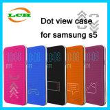 Kreative PUNKT Ansicht-intelligenter Kippen-Deckel-Fall für Samsung
