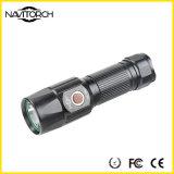longo 260lm claro elevado - funcionar a lanterna elétrica recarregável do diodo emissor de luz do tempo (NK-2661)