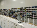 Óculos de sol relativos à promoção baratos do estilo do verão com lente do espelho
