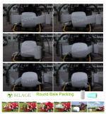 Película plástica do envoltório da ensilagem da melhor qualidade de China