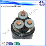 Tinned Copper Conductor XLPE Insulation PE Sheath Electric Power Cable