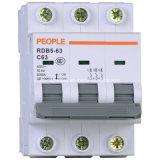 Miniatuur Stroomonderbreker met Hoge Brekende Capaciteit Rdb5-63