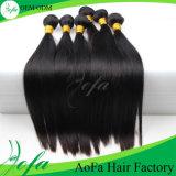 Extensão humana brasileira do cabelo do Virgin com cabelo da fita (16 ''--24 '')