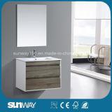 Module de salle de bains chaud de mélamine de la vente 2016 avec le miroir