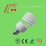 Halbe gewundene energiesparende Lampe der Tri-Color Serien-T3