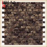 Mosaico de mármol oscuro oscuro de España Emperador Marron de la alta calidad y losas de mármol para el suelo y la pared