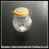 400ml Oval Glass Storage Jar con Clip Lid