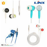 최신 판매 최고 주문 로고 MP3 귀 피스 선전용 입체 음향 이어폰 도매로