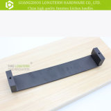 Ручка шкафа верхней ранга алюминиевая деревянная твердая
