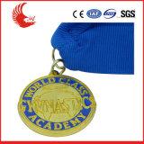 A venda quente projeta a medalha de Rússia do metal com logotipo