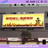 Signe de publicité polychrome extérieur du monde Ad10 LED de LED