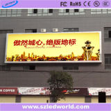 Muestra publicitaria a todo color al aire libre del mundo Ad10 LED del LED