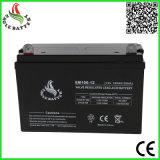 bateria acidificada ao chumbo selada VRLA de 12V 100ah para sistemas de energia solar