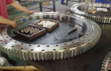 Engrenagem de anel helicoidal do forjamento do aço inoxidável de tolerância elevada para a engenharia