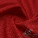 Água & do Sportswear tela 100% pontilhada diamante tecida do filamento do poliéster do jacquard para baixo revestimento ao ar livre Vento-Resistente (53139)