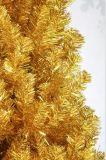 زاهية عيد ميلاد المسيح زخرفة اصطناعيّة [كريستمس تر] ذهبيّة لأنّ عيد ميلاد المسيح زخرفة