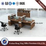 2016の新しいデザイン木の2つのシートのオフィス表/Workstation Hx-6m204