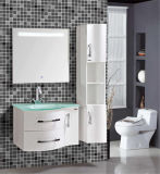 Modernes Wall Mounted Bathroom Cabinet mit Side Cabinet