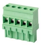blocchetto terminali Pluggable del passo di 7.5mm con la vite