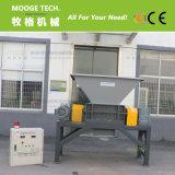 Calidad superior de doble eje de la máquina trituradora de plástico