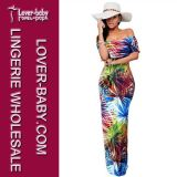 Reizvolle Dame Printed Maxi Dress (L51309)