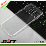 Alta caja suave transparente ultra fina del teléfono celular de la contraportada para la galaxia S7 (RJT-0134) de Samsung