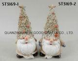 Het Ornament/het Beeldje van de Kerstman