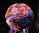 P5 perfectionnent la bille polychrome d'intérieur d'Afficheur LED de sphère d'effet de visibilité