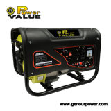 Power Value 2kw generador portátil doble control de la presión de gasolina generador