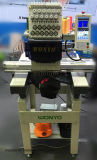 Sola máquina de alta velocidad principal Wy1201CS del bordado del casquillo y de la camiseta