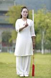 Taoísmo Wudang Tai Chi Mujeres Primavera y Verano Flax Ropa Deportiva