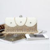 De met de hand gemaakte Avond van het Kristal van het Bergkristal doet de Vrouwen van de Manier van de Leeswijzer Dame in zakken Handbags