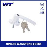 Maneta de aluminio y bloqueo de la puerta deslizante de la alta seguridad de Wangtong