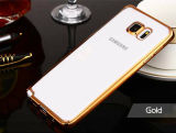 Caja suave ultra fina del claro TPU para Samsung S6