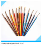 12PCS Colorful Plastic Artist Brush für Painting und Drawing