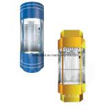 Quadratische Form-panoramisches Glashöhenruder mit Maschinen-Raum