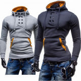 2016の最新の人の高品質のダブルのフード付きのセーター